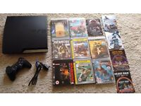 Sony PS3 Playstation 3 Console + 13 Games