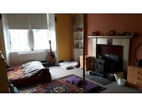 Lovely double room with a stove in a farm short term