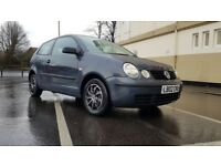 VERY GOOD CONDITION VW POLO 2002. 73K MILES.