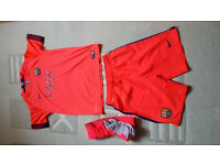 Barcelona Football Kit Original and Genuine for Junior
