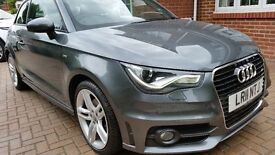 AUDI A1, SLine, AUTO, Sat Nav, Bose, Xenon LED Lights, Tech Pack, New tyres, MOT to March 2017,3Dr,