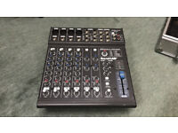 SoundLAB G742BB 8 channel powered mixer