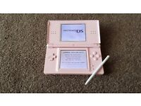 Pink Nintendo DS great condition, plus accessories and 13 games