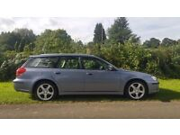 2005 SUBARU LEGACY SPORT TOURER 2.0 57000 MILES FULL BLACK LEATHER CAMBELT DONE 2 PREVIOUS OWNERS!