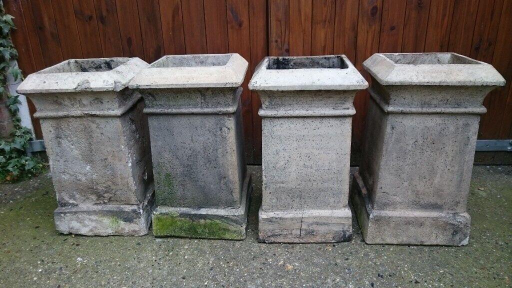 Reclaimed Square Victorian Chimney Pots In Norwich Norfolk Gumtree
