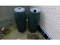 x2 HARCOSTAR WATER BUTTS ***OFFERS***