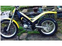 Gas gas 125 txt pro trials bike