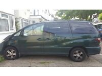 Toyota Previa 7 seater for sale bargain including parrot and parking sensors
