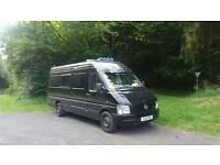 VW Transporter (LWB) converted campervan