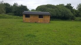 Paddock and Stables to rent