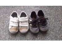 Kids Trainers two pairs of Size 5