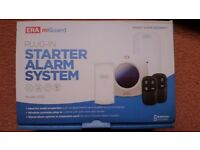 New & Boxed Unwanted Gift ERA miGuard Plug-In Starter Home Flat Alarm Kit, Wireless Plug & play,