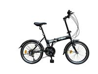"""*As New* ECOSMO 20"""" Folding City Bicycle Bike 21SP - 20F03BL"""