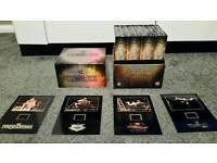 Wwe wrestling complete anthology dvd box set (rare)