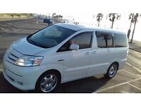 TOYOTA ALPHARD HYBRID 2.4 Auto Top Spec 7 Seat 4WD with Twin Sunroof and Alloys