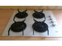 Free second hand hob in working order - needs a clean - AEG 4 burner