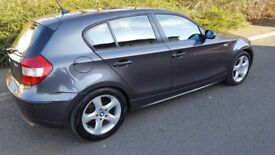 BMW 1 series 2005 grey 107000 miles
