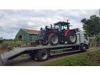Tractor, mini digger, Plant transport / haulage