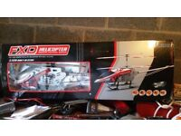 5 FOOT R/C HELICOPTER AND X BOX WITH 13 GAMES FOR MOUNTAIN BIKE