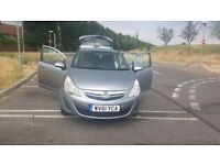 Vauxhall corsa automatic 2011 come wirh service history and manual book