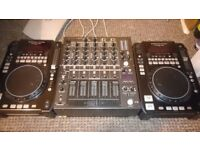 2cd decks n mixer