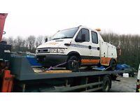 Breakdown Heavy Recovery Truck Car Van 4x4 Motorbike Motorcycle Trike Traffic Accident Hiab Lockout