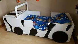 Jeep safari toddler bed
