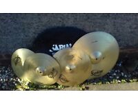 Solar by Sabian cymbal set plus bag