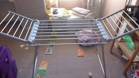 Lakeland electric heated clothes rail
