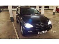 Mercedes ML270 CDI Automatic Metallic Black Full service History