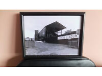 old dunmore stadium greyhound racing track belfast framed quality big print sign