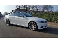White BMW 320 D M Sport Pristine Condition #idrive #M3 Alloys #leathers