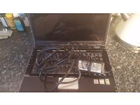Hp laptop and charger working but slow can be used for parts