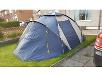 2 bed 4 man tent used twice plus extras £60.00 ONO