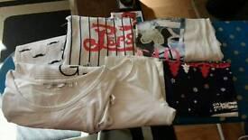 Bundle of 6 tshirts size 10