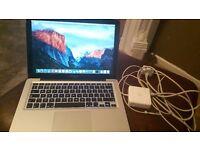 "Apple Macbook Pro 13.3"", Late 2011, 6GB RAM, 500GB HDD"
