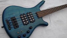Warwick Corvette Bass Guitar Made In Germany $$ Doublebuck, with Fender Gigbag