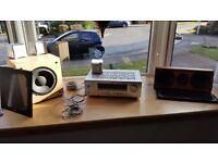 Complete speaker system hi end