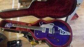 Gretsch G6120 Brian Setzer - Purple