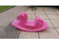 Little Tikes Seesaw in Pink - VGC
