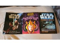 Job lot of 14 Star Wars books. £100.