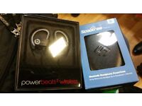 Dr dre powerbeats 2 wireless headphones and charging case brand new