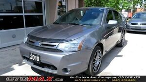 2010 Ford Focus SES NO ACCIDENT ALLOYS LEATHER SEATS SUNROOF
