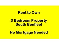 Tired of Renting? Rent to Own 3 bed mid-terrace. No Mortgage needed