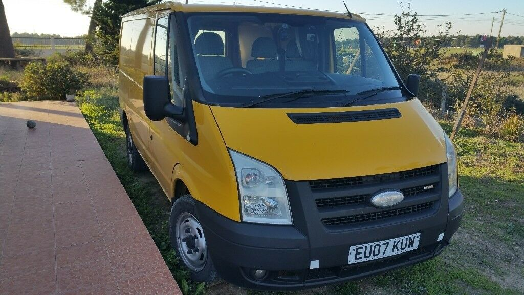 243f2337efca34 Ford Transit 110 T300 RHD 2007 (UK van) LOCATED IN PORTUGAL ...