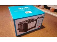 RED DUALIT 4 PIECE TOASTER