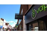 Assistant Manager for Vapestore, Horsham : £17,000 - £19,000 : Potential for Advancement
