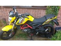 KSR GRS 125 2017 Full learner kit £1400 ONO 1800miles