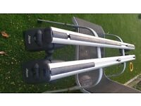 Two Atera SIGNO AS aluminium roof bars no. AR5049
