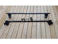 Thule roof bars and feet for Citroen C8